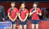 【卓球】 女子団体(準々)日本VSドイツ(ハイライト)