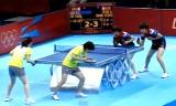 【卓球】 香港VS韓国(女子ダブル)ロンドン五輪2012