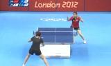 【卓球】 日本VS中国(女子団体) ロンドン五輪2012