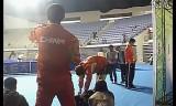 シュラガーとガオニンの練習+中国選手団