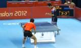 【技術】 張継科VS朱世赫(団体戦)ロンドン五輪2012