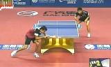 【卓球】 町飛鳥VSロビノ(フランス) ハーモニーチャイナオープン2012