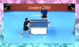 【卓球】 荘智淵(台湾)VSクリサン ロンドン五輪2012