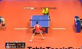 【卓球】 村松雄斗VSサリフ(準々)チェコオープン2012