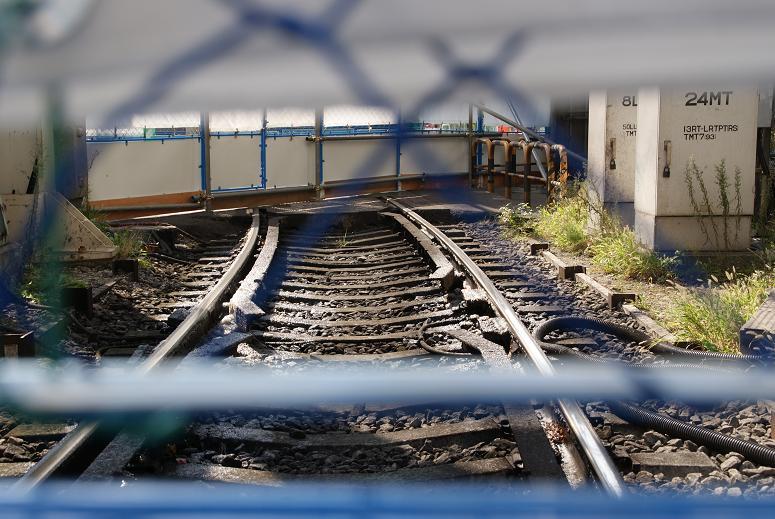 塞がれた線路1