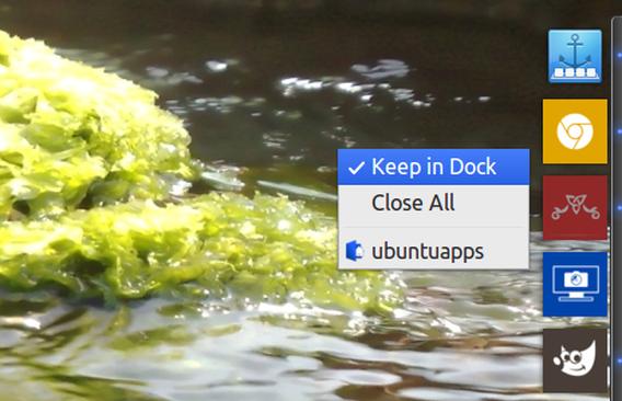 Plank 0.7 Ubuntu ランチャー アイコンの追加