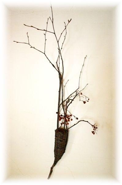 壁掛け花かご