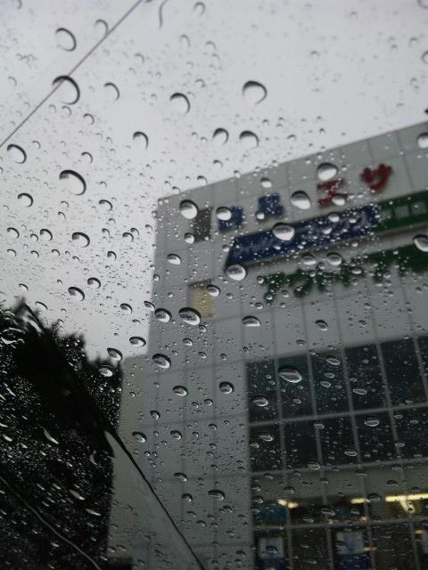 雨ですわ^^;