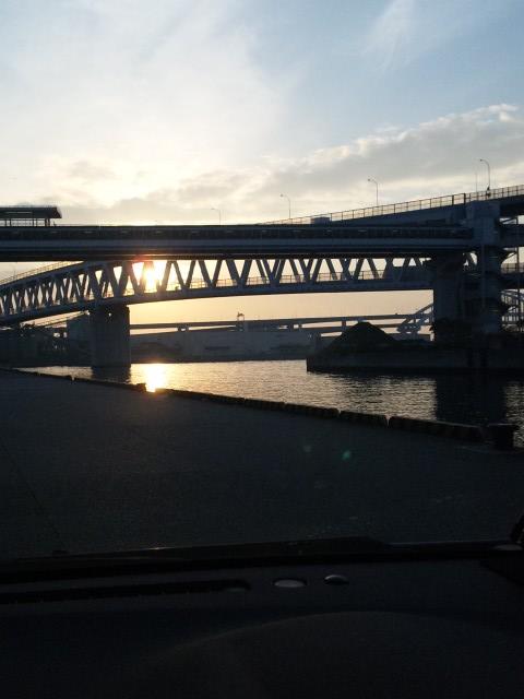 住吉浜に到着