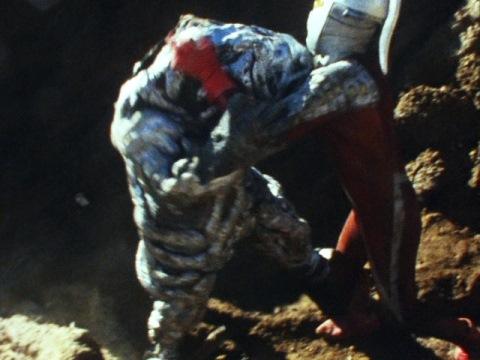 ウルトラセブン vs シーボーズ