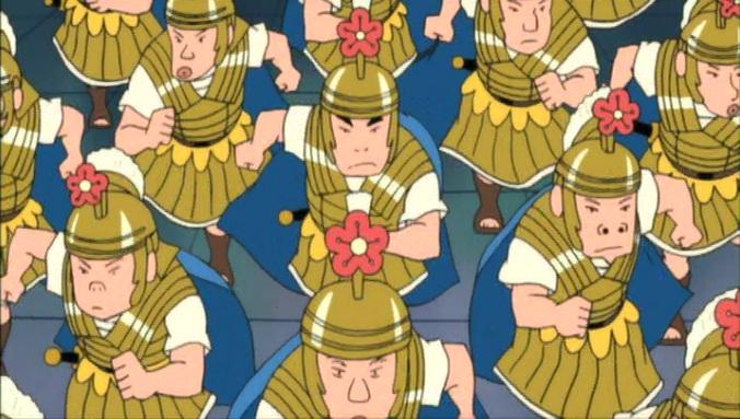 嵐を呼ぶ栄光のヤキニクロード 1000人隊