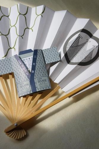 ヨシカミ(三社祭) と浅草神社の扇子