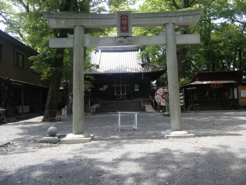 サッカー神社鳥居