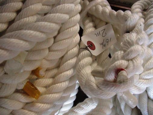 舫いロープ