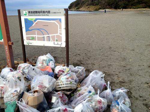 20131223三平海岸清掃1