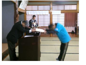 表彰式(熊本)