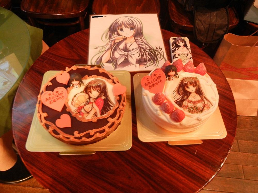 さくやさん2013ケーキ