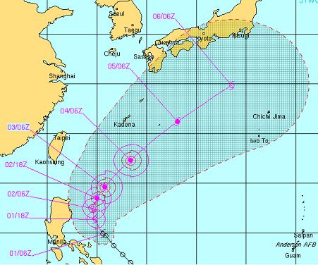 2012台風3号