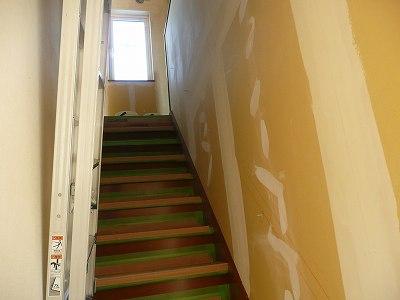 終えていない階段