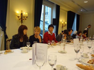 桂由美先生とブライダルセミナー&lunch 13