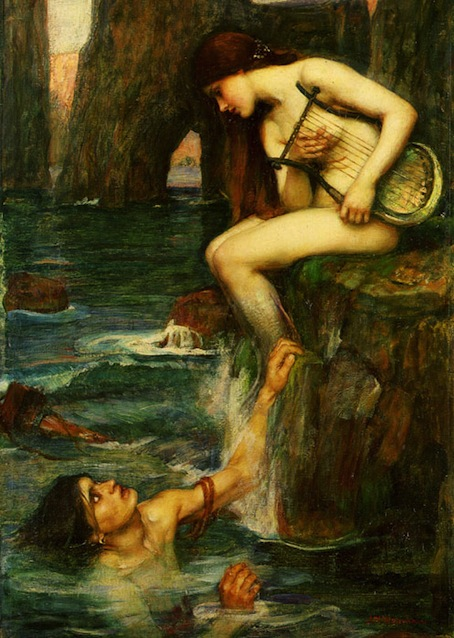 The Siren—John William Waterhouse
