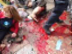 ボストンマラソンでの爆破テロ