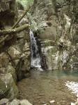 不動滝の下の滝