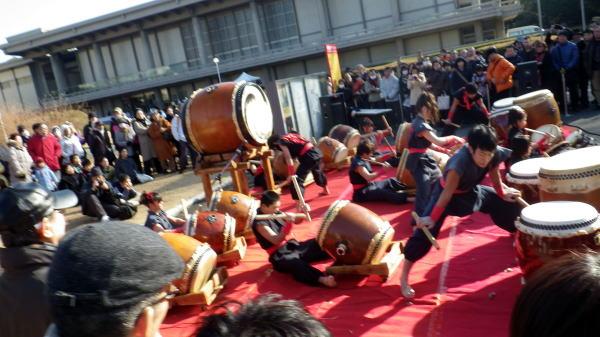 東博 和太鼓演奏
