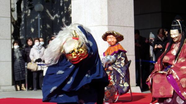 東博 獅子舞