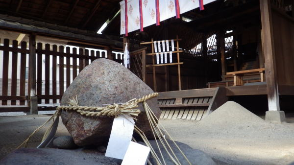 幸神社 石