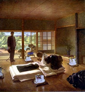聖徳記念絵画館 壁画「岩倉邸行幸」