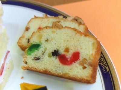 シュトーレン風フルーツケーキ02@HOTEL GRAND HILL ICHIGAYA CATTLEYA2013年12月
