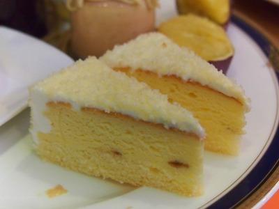 カマンベールチーズのスフレ@HOTEL GRAND HILL ICHIGAYA CATTLEYA2013年12月