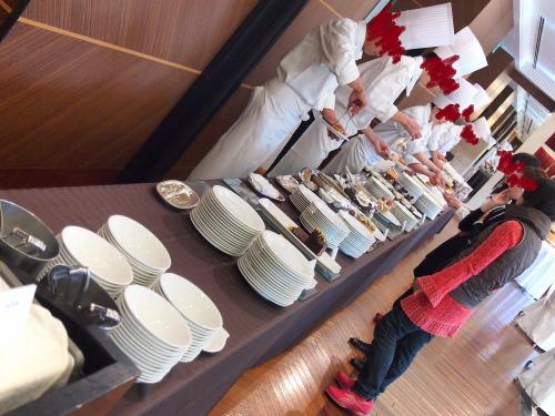 ブッフェ台@ホテルニューオータニ東京_パラッツォオータニ新春スイーツビュッフェ2014