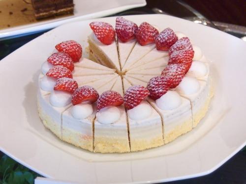 スーパーショートケーキ@ホテルニューオータニ東京_パラッツォオータニ新春スイーツビュッフェ2014
