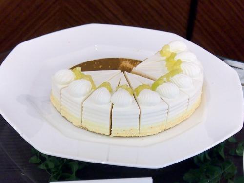 スーパーメロンショートケーキ@ホテルニューオータニ東京_パラッツォオータニ新春スイーツビュッフェ2014