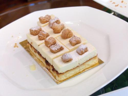 プリマリコッタチーズケーキ01@ホテルニューオータニ東京_パラッツォオータニ新春スイーツビュッフェ2014
