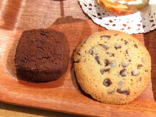 チョコキューブとチョコレートチップ@ステラおばさんのクッキー