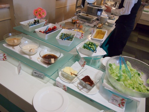 サラダ@Hotel Okura TOKYO BAY_2014年02月