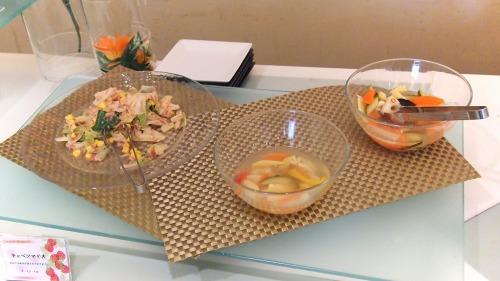 キャベツマリネ  かつお風味のピクルス 01@Hotel Okura TOKYO BAY_2014年02月