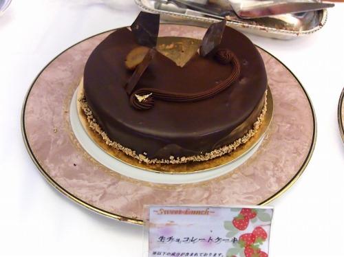 生チョコレートケーキ01@Hotel Okura TOKYO BAY_2014年02月