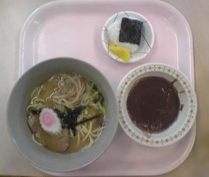 4月5日の昼食