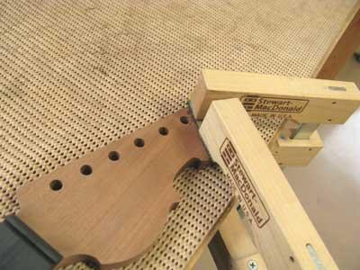 ギターネックの作り方