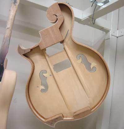 パラレルブレーシング・フルアコギター