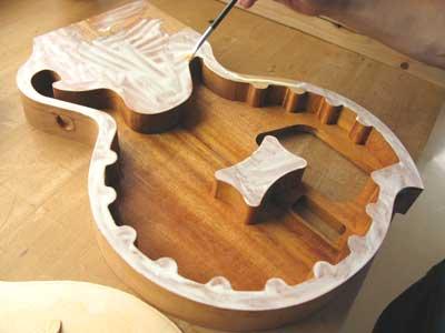 シンラインギター作り方