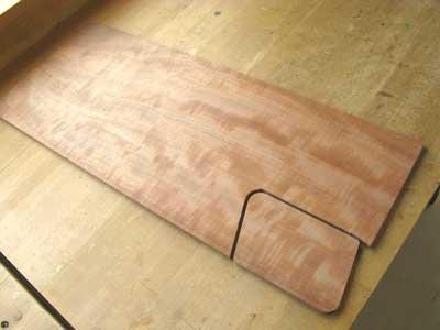 ギター材料サペリ