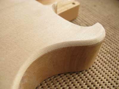 ギターボディの作り方