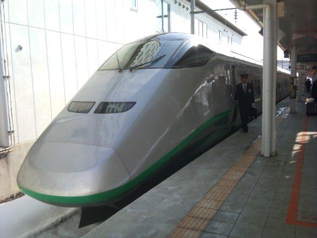 東海道以外の新幹線って、多分初めて乗った