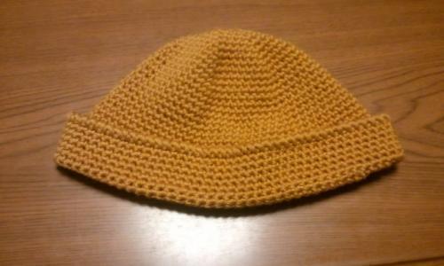 帽子黄土色1