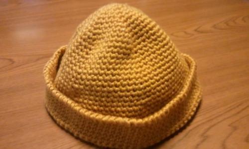帽子黄土色2